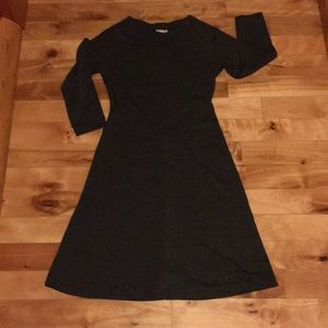 Garnet Hill wool blend A-line dress Sz 4